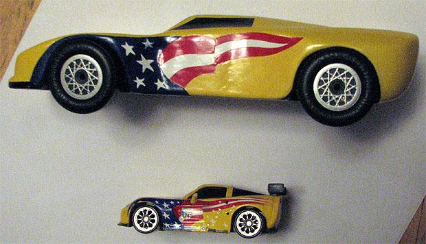 pinewood derby corvette template - pinewood derby corvette design