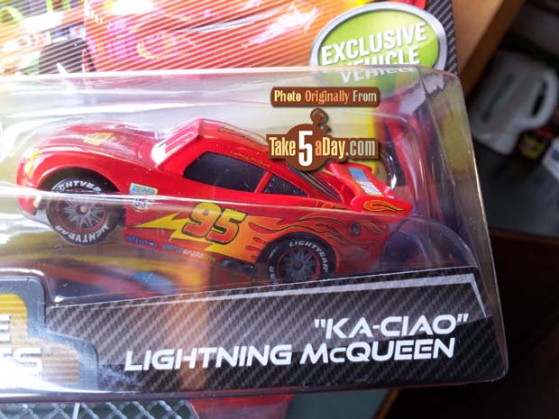 Lightning Has A New Expression But The Upgrade 1 Piece All Metal Body So  Thatu0027s Nice U2026 The Main And Only Real Difference Is The BUMPER STICKER U2026
