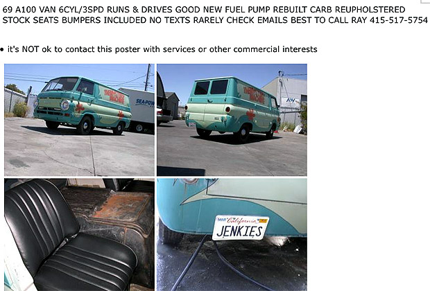 mystery machine van for sale fixer upper version take five a day. Black Bedroom Furniture Sets. Home Design Ideas