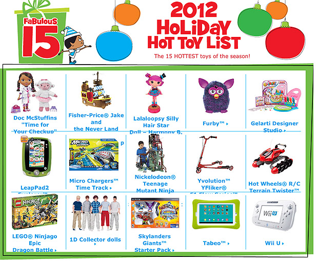 Best Toys 2012 : Toys r us top holiday take five a day
