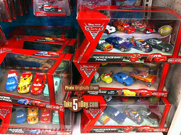 Target Cars Toys : Mattel disney pixar cars diecast target box sets stay