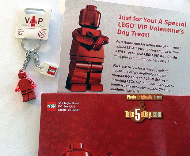 LEGO VIP Valentine's Day Gift   Take Five a Day