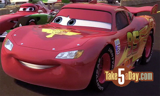 Disney Pixar CARS The New CARS Toons Lightning McQueen Take - The new cars