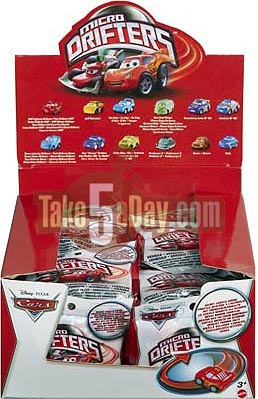 Take Five A Day 187 Blog Archive Mattel Disney Pixar Cars