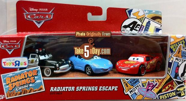 Radaitor Springs escape