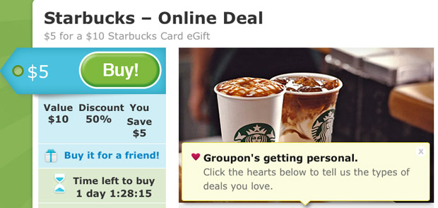 Starbucks is offering a Buy 1 Get 1 Free deal on holiday drinks from Thursday, November 12 - Sunday, November 15! The offer is only valid between 2 pm and 5 pm each day.