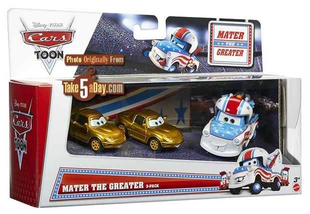Mattel Disney Pixar CARS Diecast: Mistake Walmart Toons 3
