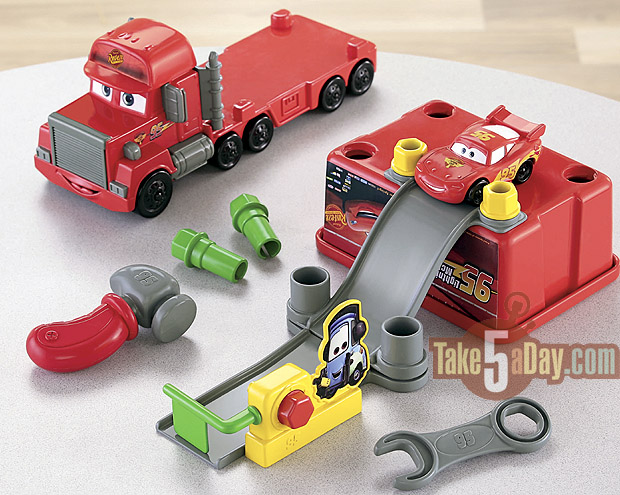 Fisher Price Truck With Cars Inside