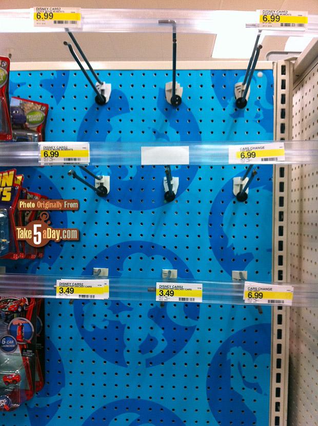 target empty