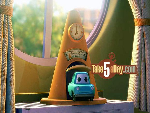 Mattel Disney Pixar Cars D23 Expo Exclusive Cozy Cone Alarm