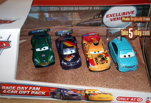 Mattel Disney Pixar Cars New Target Race Day Alloy Hemberger