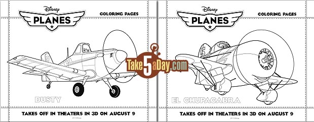 Disney pixar toons planes monsters university activity for Pixar planes coloring pages