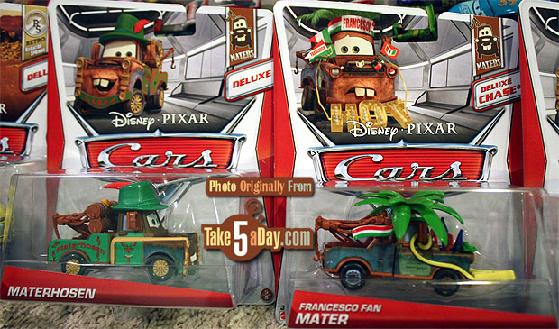 Mattel Disney Pixar Cars Diecast Kmart Francesco Fan