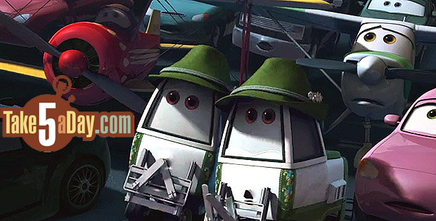 Disney Planes Dottie | Car Interior Design