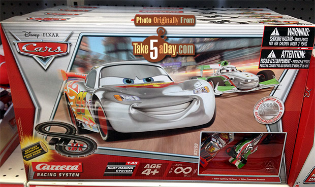 Silver Racer Slot Cars Box