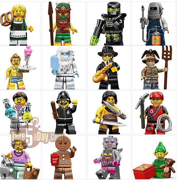 Image Gallery Lego Series 11