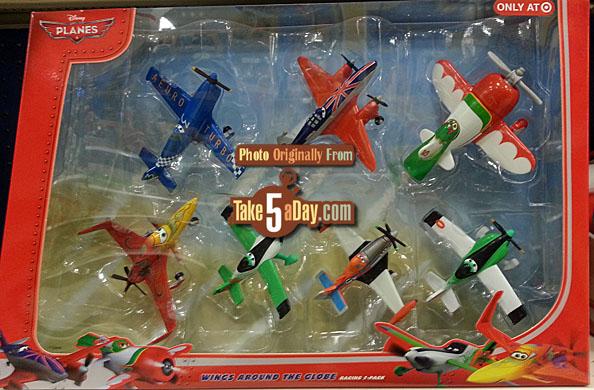 [Planes] Sortie d'un nouveau pack Planes : Wings Around the Globe en pack de 7 ! Target-7-Pack