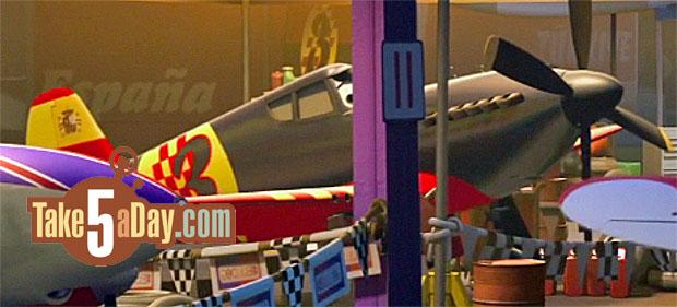 spanish plane