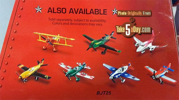 [Planes] Sortie d'un nouveau pack Planes : Wings Around the Globe en pack de 7 ! Target-box-back
