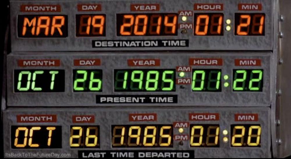 Ways to Celebrate Back to the Future Day - Brisbane