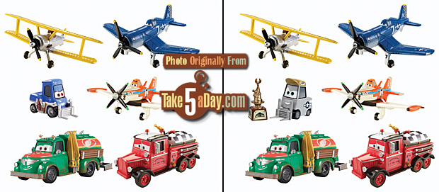 Mattel Disney Planes Fire Amp Rescue 6 Pack Quot Sparky Quot Pitty
