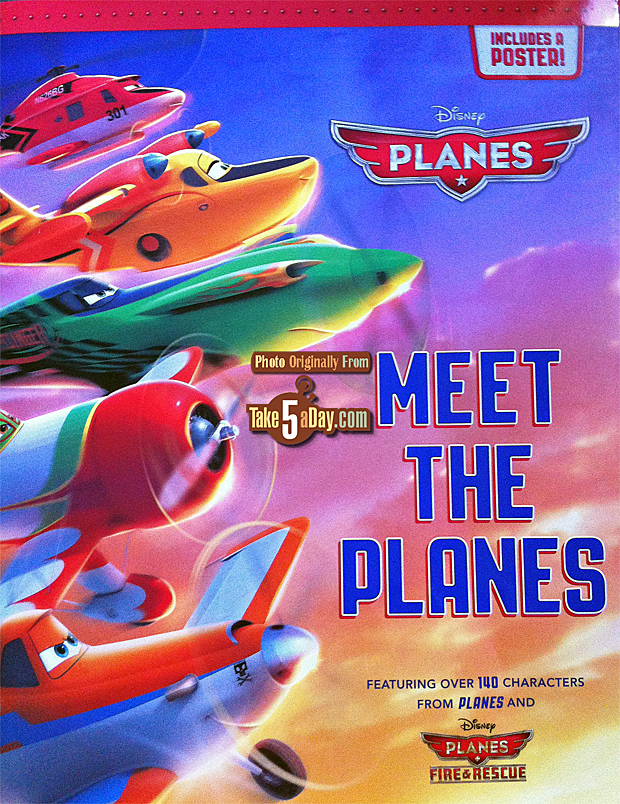 meet the planes book cover