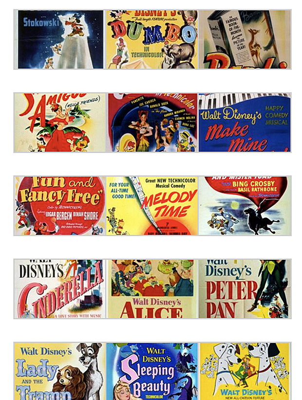 I Thought Id Seen Them All But There Are About 4 5 Like MELODY TIME Ive Never Heard Of Or Apprently The Only Disney Animation Film In Past 40