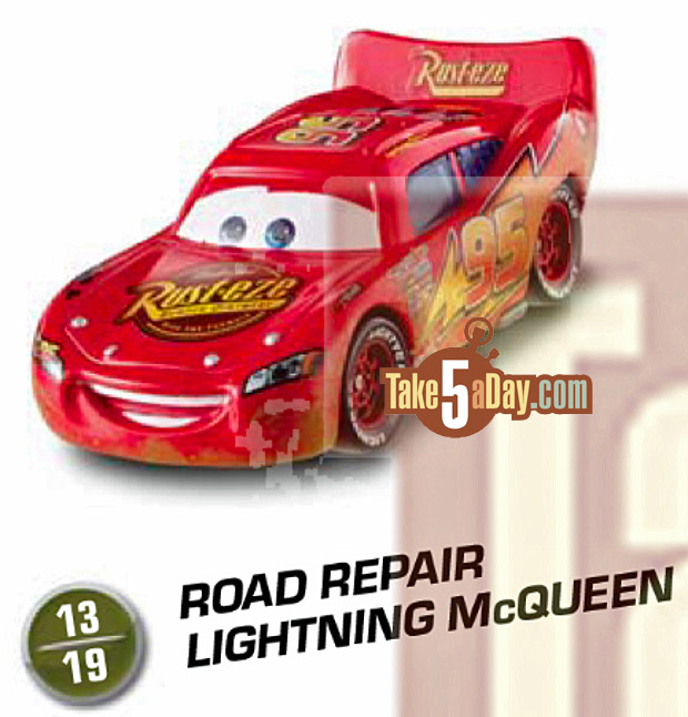 Cars Road Repair Lightning Mcqueen
