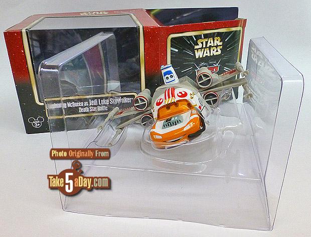 Lightning-McQueen-as-Jedi-Luke-Skywalker-Death-Star-Battle-package-front-open