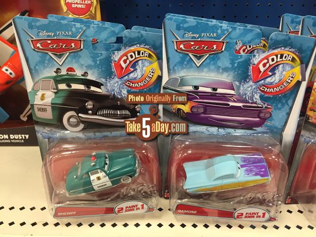 Cars Color Changers: Mattel Disney Pixar CARS: Color Changers Return