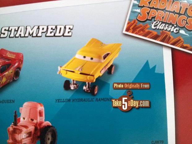 Mattel Disney Pixar Cars Tractor Stampede Is A Gift Pack