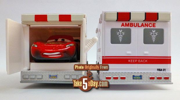 Mattel Disney Pixar Cars Rescue Squad 3 Pack To The