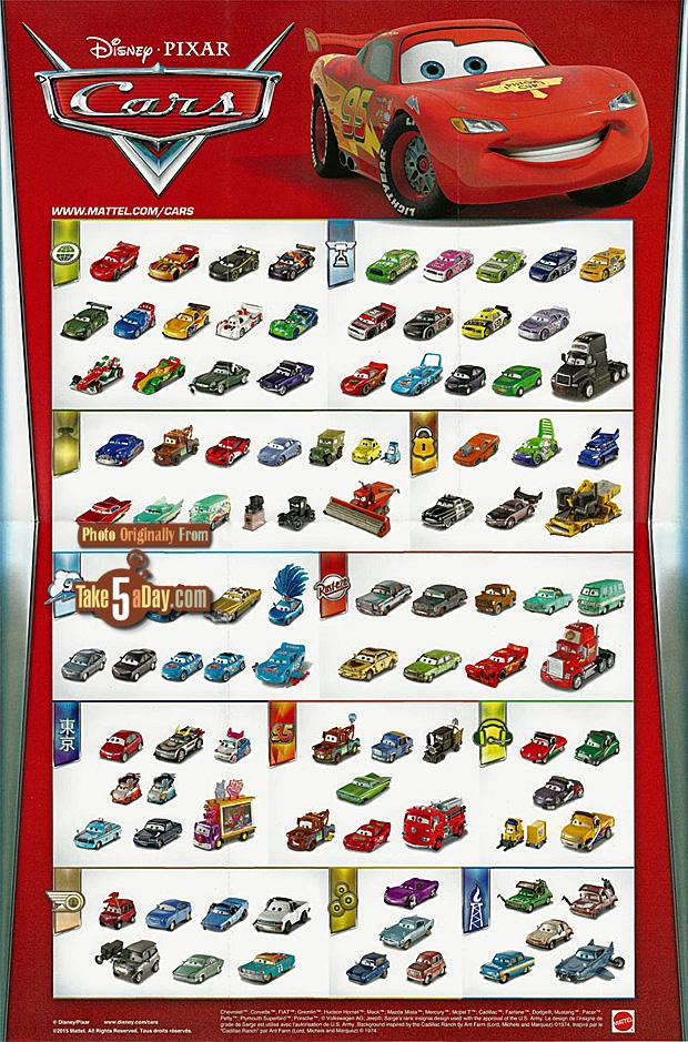 Mattel Disney Pixar Cars Daredevil Promo Spinout