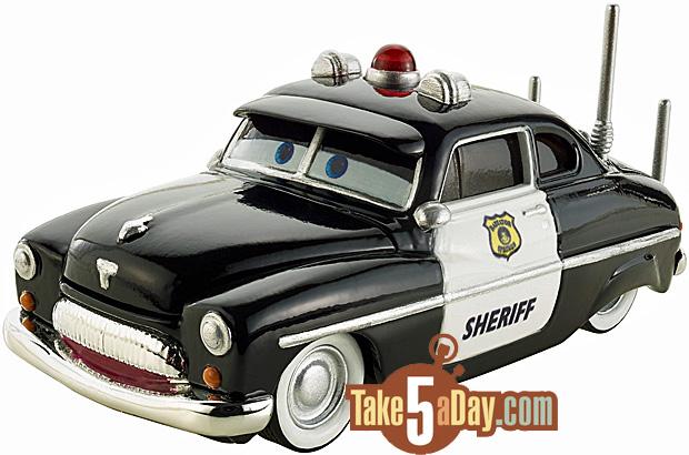 Mattel Disney Pixar CARS Precision Series Sheriff Amp Mater