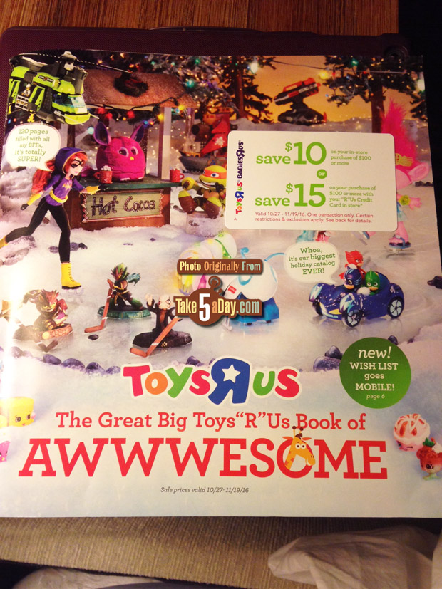 Toys R Us Big Book : Mattel disney pixar cars the toys r us christmas book no