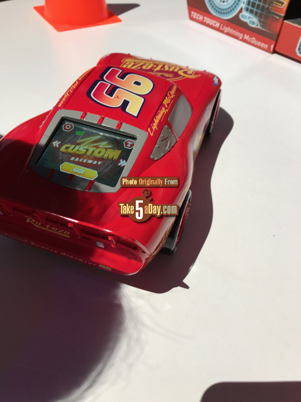 Mattel Disney Pixar Cars 3 Tech Touch Lightning Mcqueen