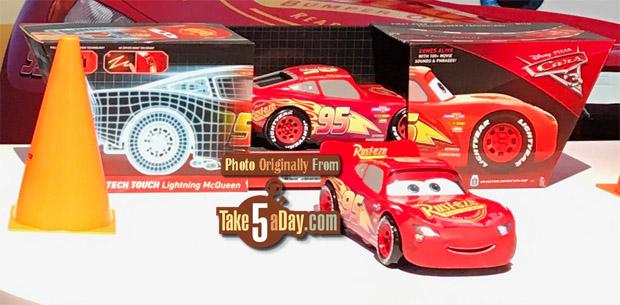 Mattel Disney Pixar Cars 3 Tech Touch Lightning Mcqueen