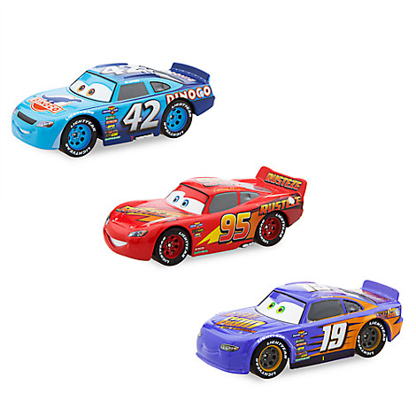 disney pixar cars 3 disney store at the starting gate take five a day. Black Bedroom Furniture Sets. Home Design Ideas