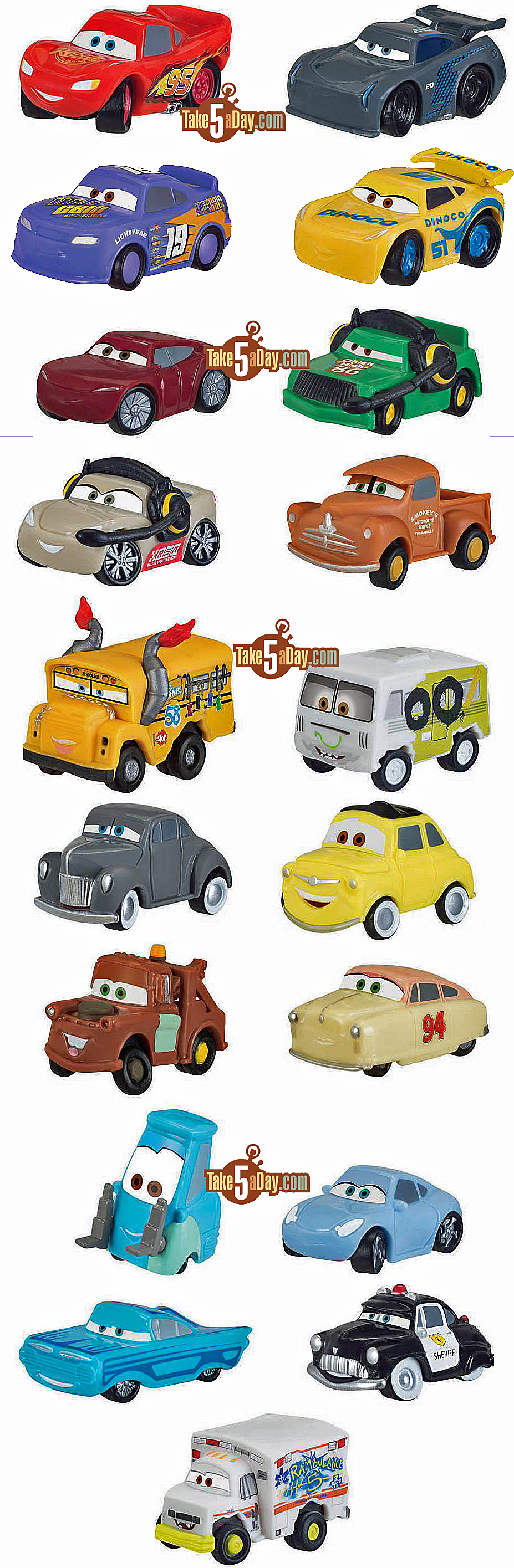 Disney Pixar Cars 3 The New Mini S Amp Mini S Blind Bag
