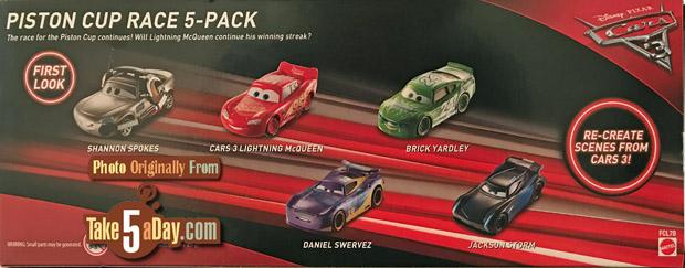 Mattel Disney Pixar Cars Box Sets So Far Take Five A Day