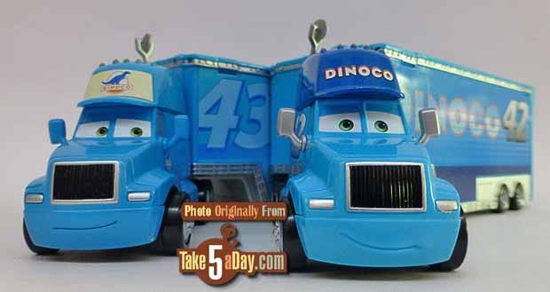 Mattel Disney Pixar Cars 3 Cal Weathers Dinoco Hauler