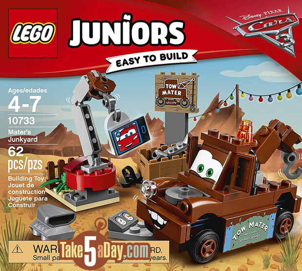 Disney Pixar Cars 3 Lego Juniors Amp Duplo S Take Five A Day