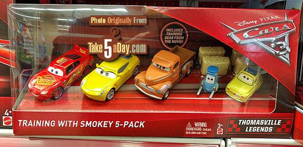 Dan The Pixar Fan Cars 3 Smokey