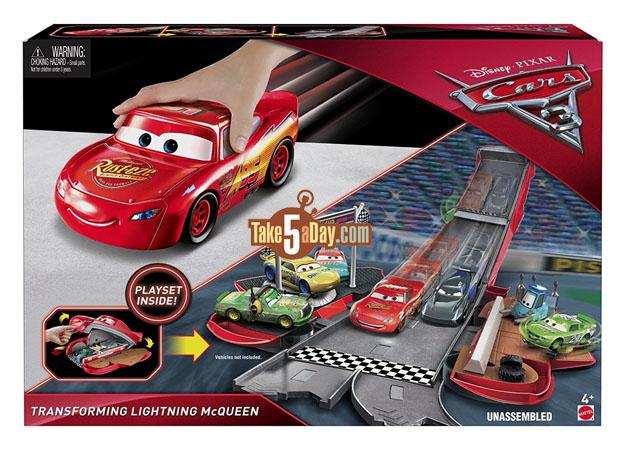 Mattel Disney Pixar Cars 3 Transforming Fabulous