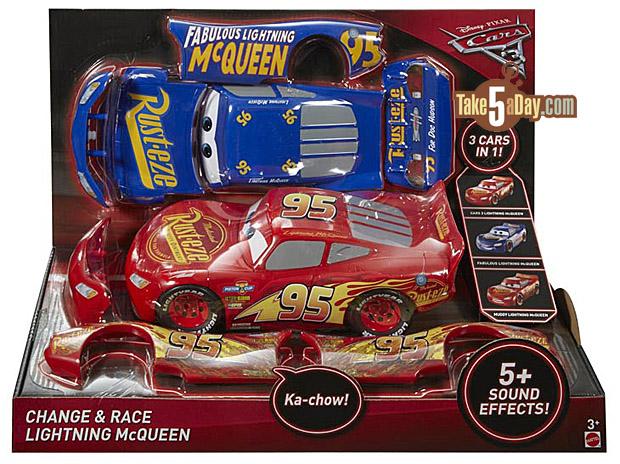 Take five a day blog archive mattel disney pixar cars 3 race change lightning mcqueen - Auto flash mcqueen ...