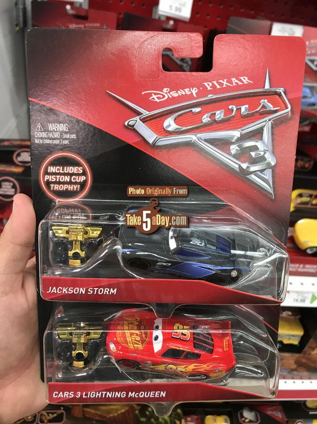 Mattel disney pixar cars 3 toys r us event today kmart for Bureau cars toys r us