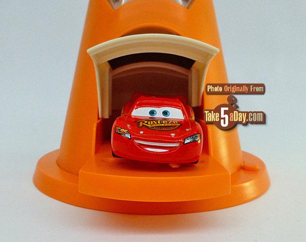Mattel Disney Pixar Cars D23 Expo Cozy Cone Alarm Display