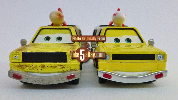 Mattel Disney Pixar Cars 3 Clean Todd Pizza Planet