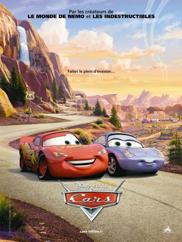 Disney Pixar CARS Movie Posters | Take Five a Day