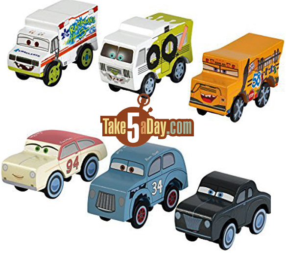 Disney Pixar Cars Kidcraft All In On Wood Cars Take